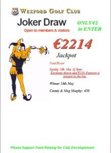 Joker May 18th