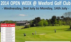 open week 2
