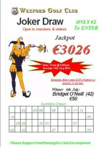 Joker July 6th