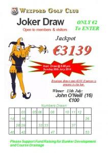 Joker revised 13th July