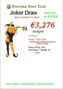 Revised Joker 20th July