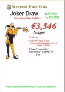 Joker 3rd Aug