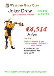 Joker 14th Sept