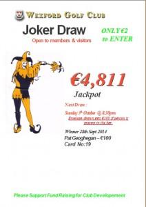 Joker Sept 28th