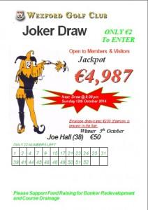 Joker 5th October