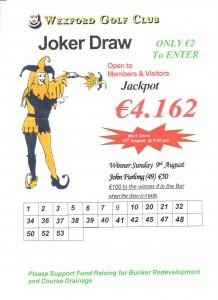 Joker 9th August