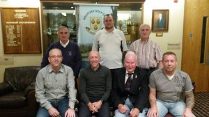 The Yard  Restaurant Gents Singles Winners Back; Paddy Cleary (Vice Captain, 4th), Paddy Murphy (2nd), Des O'Neill (Veterans).  Front; Andy Doyle (Sponsor), James Murphy (Winner), Clem Daly (Captain), Michael Leniston (3rd)