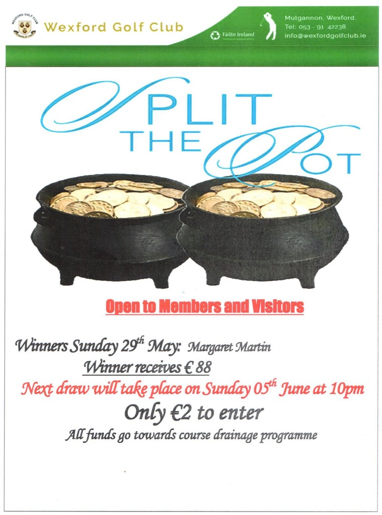 split the pot