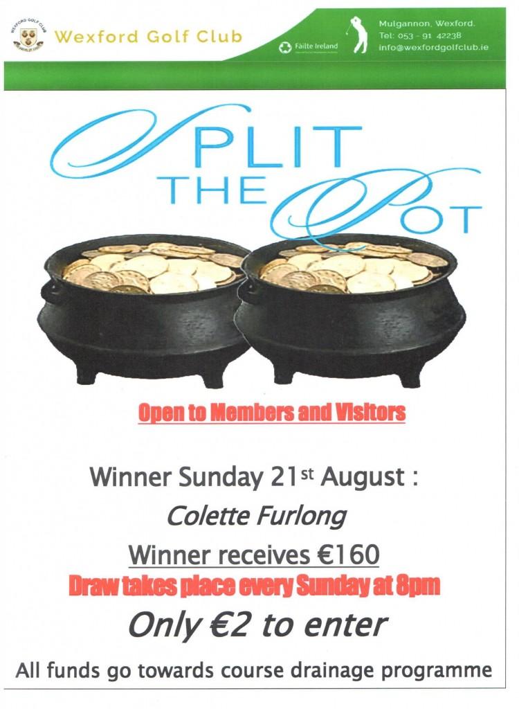 Split the Pot 21.08