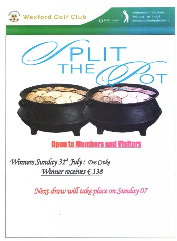 split the pot 31.07