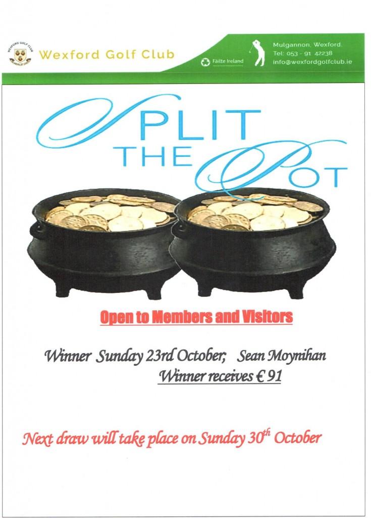 split the pot 23.10