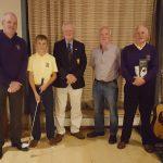 Liam Bowler PGA, Mark Furlong, Jack Lynn Capt, Mick Rossiter and Larry O'Neill