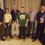 Liam Bowler PGA, Mark Furlong, Jack Lynn Capt, Jimmy Murphy, Mick Rossiter and Larry O'Neill