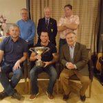 Front; Nigel Byrne, Alan Lawlor, Brendan Howlin TD. Back Row; Nicky Reville, Jack Lynn Capt and Ciaran Winters