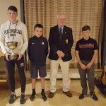 Cathal Dowd, Aidan Conneely, Jack Lynn Capt and Cillian Corkery