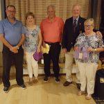 Larry Murphy, Mary Rice, John Pitt, Jack Lynn Capt and Kathleen Murphy