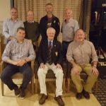 Front; Dermot Breen, Jack Lynn Capt., Dermot Wallace. Back row; Darren Robinson, Pat Harnett, Jason Kehoe and Mick Rossiter